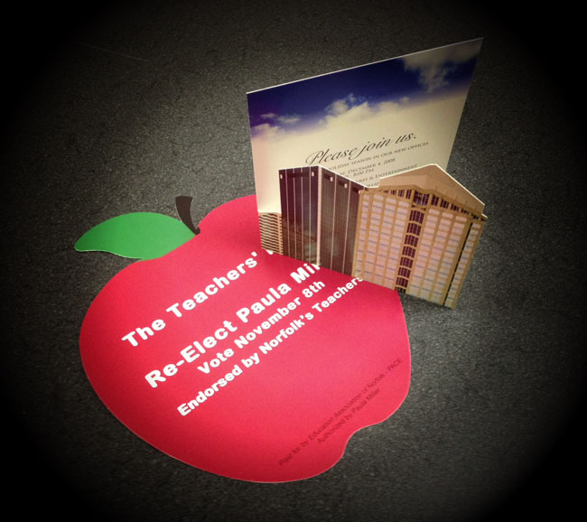 SS - Die Cut Apple and Building